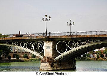 Puente, De, Isabel, II, sevilla, españa,