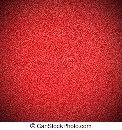 Red Plastered Wall. Background and Texture for text or...