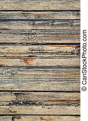 Old Weathered Wood Fence Background and Texture for text or...