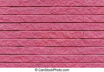 pink cement brick wall for background
