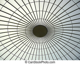 Building roof structure - Modern building roof structure