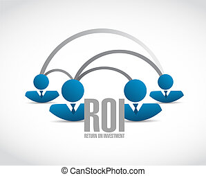 return on investment business people network