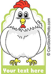 Chicken food label