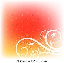 Decorative Flourish Background - Decorative Flourish...