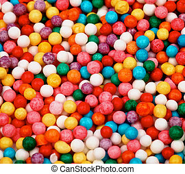 Bubble Gum Background - Background of Multi Colored Chewing...