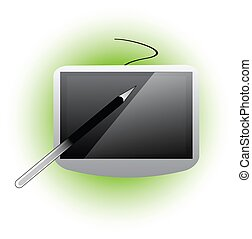 electronic gadgets icon vector