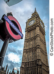 Big Ben London - Big Ben tower clock London