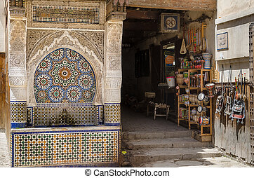 Nejjarine Fountaine, fez - The beautiful fountaine of...