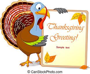 Thanksgiving Turkey - Illustration of a Turkey Thanksgiving...