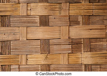 Bamboo lattice texture