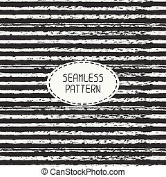 Pencil stripes. Scribble lines seamless patterns. Abstract...