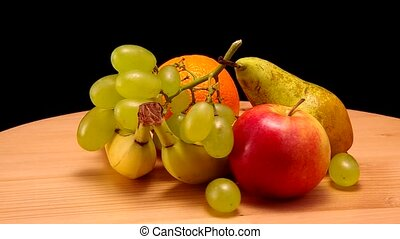 Different types of fruit. - Different types of fruit are...
