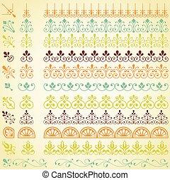 Repeating Borders Set - Set of repeating borders. Main...