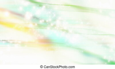 Soft flowing particle looping abstract animated background
