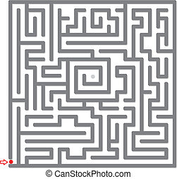 Maze Vector illustration