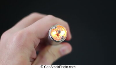 Top Down Mechanical Mod - Mechanical Mod Electronic...