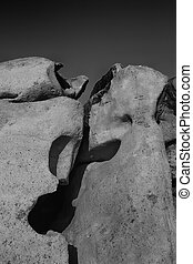 Monsters of rock - Especially Sardinian granite in the form...