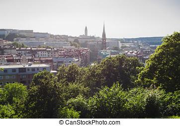 Goteborg cityscape - Goteborg view, Sweden