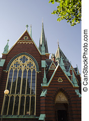 Church view - Church in Goteborg, Sweden