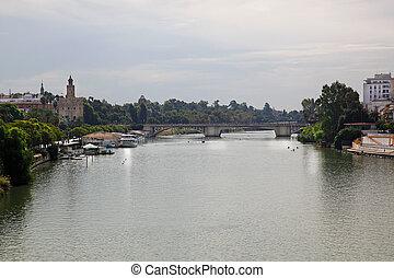 Puente de San Telmo Seville - the bridge Puente de San Telmo...