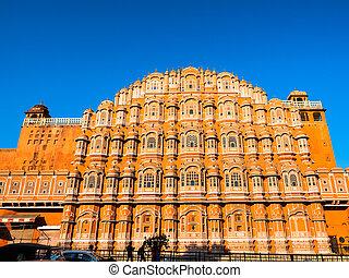 Hawa Mahal in Jaipur - Hawa Mahal, the palace in Jaipur,...
