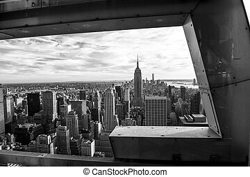 Black and White on New York - New York city in black and...