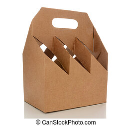 Empty Six Pack Carrier