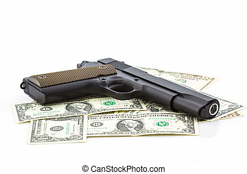 Money with Gun .