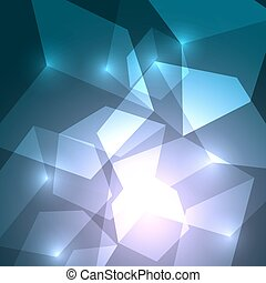 Cube abstract background