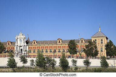 Saint Telmo Palace, Seville - Saint Telmo Palace in Seville,...