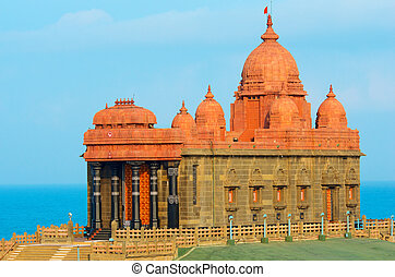 Vivekananda Rock Memorial in Kanyakumari, India - Swami...