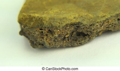 Perfect Loop Iron Ore Limonite - The perfect shot of closeup...