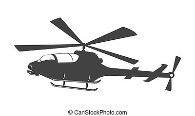 Helicopter Silhouette