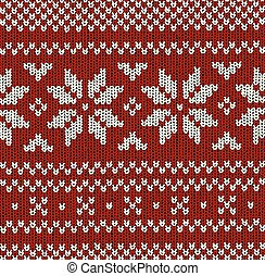 Norwegian pattern - Christmas Vector