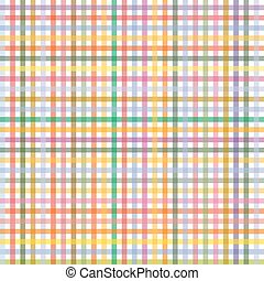 Checkered pattern colored - endlessly