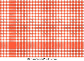 Checkered tablecloths patterns RED
