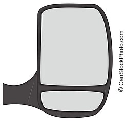 Van Side Mirror