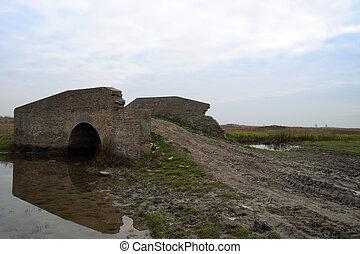 Old bridge brick - The old bridge of bricks that there is...