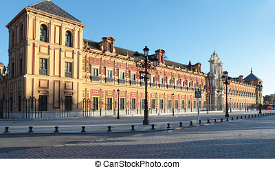 Palace of San Telmo, Seville - Palace of San Telmo in...