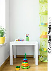 Kids space in modern house - View of kids space in modern...