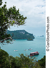 Angthong islands - Landscape of Angthong islands of Thailand