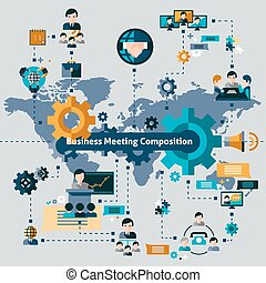 Business Meeting Composition
