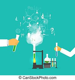 Studies in laboratory infographics. - Process Research in a...