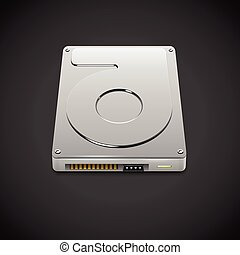 Vector Data Storage Hard Disc Drive