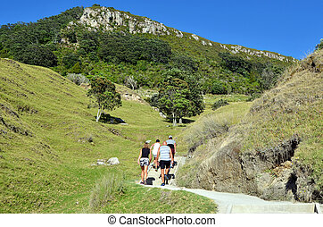 Mount Maunganui - New Zealand - MOUNT MAUNGANUI, NZL - JAN...