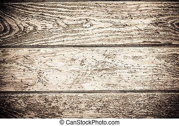 madera, escritorio, tablón, a, uso, como, Plano de...