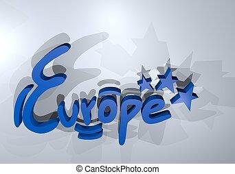 ヨーロッパ, 紋章