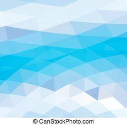 Abstract Polygonal Triangle Pattern