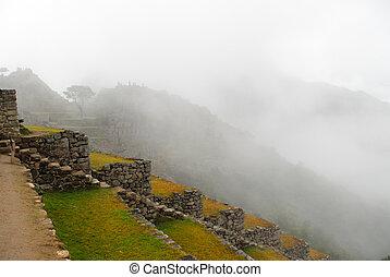 Machu Picchu, Peru - Machu Picchu, a Peruvian Historical...