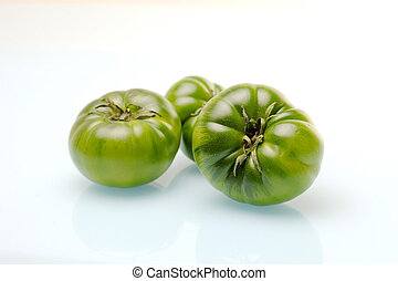 Raf tomatoes - Green variety of tomato cultivated in the...